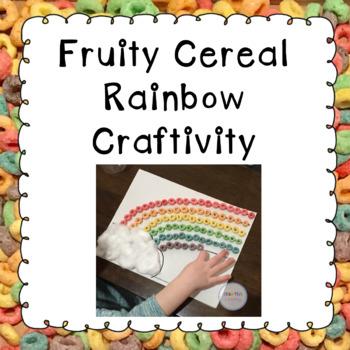 Fruity Cereal Rainbow Craftivity