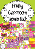 Fruity Classroom Decor Pack
