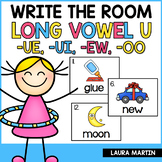 Write the Room-Long Vowel U