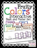 Fruity Colors Booklet and Poster set - Unscramble Color Words