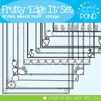Fruity Edge It Frames / Borders Set