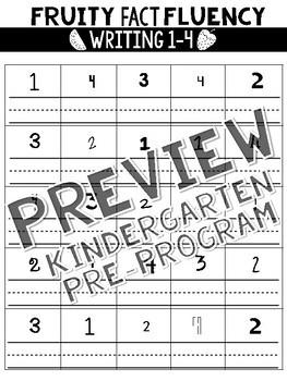 Fruity Fact Fluency: K-2 Preview