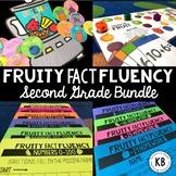 Fruity Fact Fluency: Second Grade Bundle