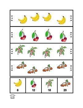 Fruity Factors: Multiplication Manipulatives
