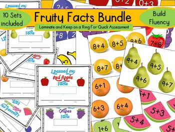 Fruity Facts Bundle (Addition Facts 10 Sets)