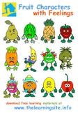 Fruity Feelings (Flash Cards and Clip Art)