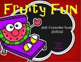 "Fruity Fun Literacy Center Treasures Reading  ""r"" controll"