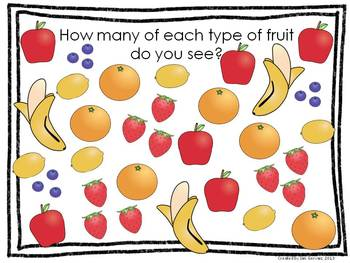 Fruity Line Plot and  Pictograph Activity