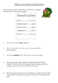 Fruity Money - A Problem Solving Activity