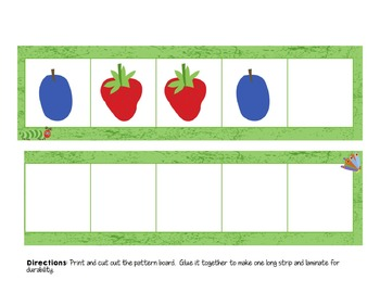 Fruity Patterns (The Very Hungry Caterpillar)