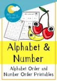 Fruity Summer Alphabet & Number