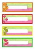 Fruity labels