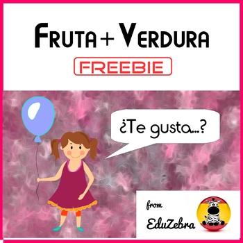 Fruits and Vegetables in Spanish - Fruta y Verdura - Speaking Activities