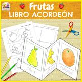 Frutas - Mini libro de Corte y Pega Ӏ Fruits Minibook in Spanish