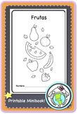 Frutas Fruits Spanish Printable Minibook
