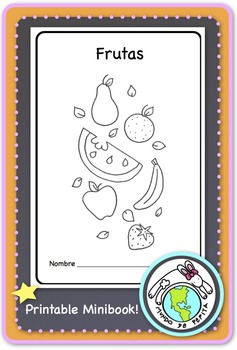 Frutas Fruits Spanish Printable Minibook
