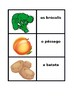 Frutas e Verduras (Fruits and Vegetables in Portuguese) Concentration games