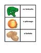 Frutas e Verduras games:  Concentration, Slap, Old Maid, Go Fish