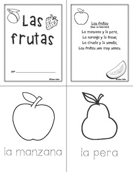 Frutas, orugas y mariposas/Fruits, Caterpillars and Butterflies Unit