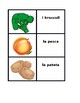 Frutta e Verdura (Fruits and Vegetables in Italian) Concentration games