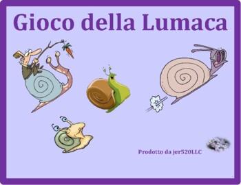 Frutta e Verdura (Fruits and Vegetables in Italian) Lumaca Snail game