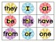 Fry 1-100 Sight Word Cards Spring