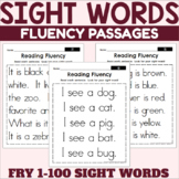 Fry 1-100 Sight Words Fluency Passages
