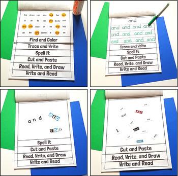 Fry 1-25 Sight Word Flip Book Bundle