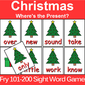 Fry 1-300 Sight Word Game for Centers or Whole Group