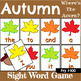 Fry 1-300 Sight Word Recognition Game Bundle for Autumn