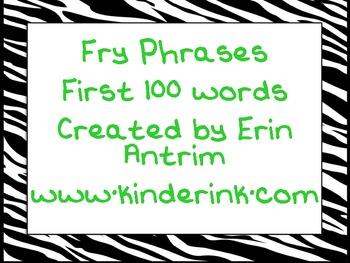 Fry 100 Phrases