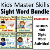 Fry 100 Sight Word Bundle - Read, Write, Decorate, and Bui