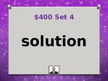 Fry 10th 100 Sight Words Jeopardy Power Point #4