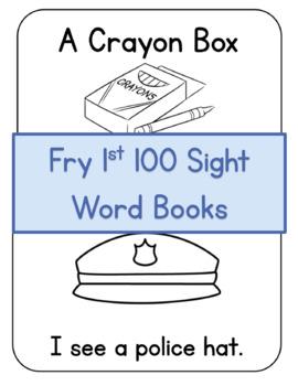 Fry 1st 100 Printable Book Set