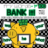 Fry 1st 100 Words Bank It Projectable Game