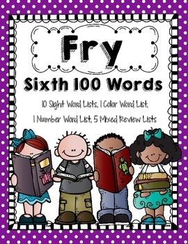 Fry 1st 600 Words