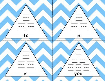 Fry 1st to 10th 100 Pyramid Writing Practice **BUNDLE**