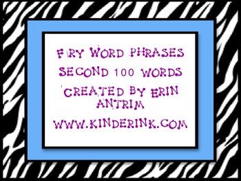 Fry 200 Word Phrases