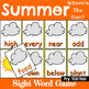 Fry 201-300 Sight Word Recognition Game Bundle for All Seasons