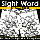 Fry 26-50 Sight Word Flip Book Bundle