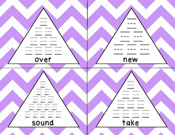 Fry 2nd 100 Pyramid Writing Practice **FREEBIE**