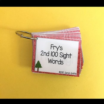 Fry 2nd 100 Sight Words #101-200 - Word Wall Cards - Camping Theme