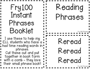Fry 300 Phrases - Student Book