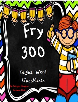 Fry 300 Sight Word Checklist