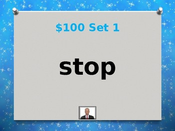 Fry 3rd 100 Sight Words Jeopardy Power Point #4