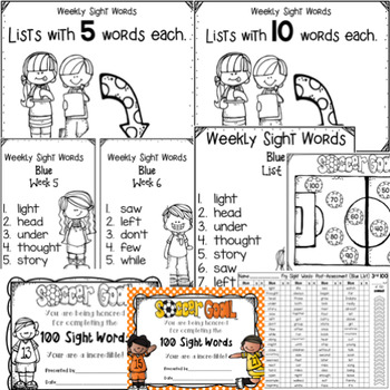 Fry Sight Word Program: 3rd 100 - Lists, Assessments, & Word Cards