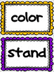 Fry 4th 100 Sight Word Lists