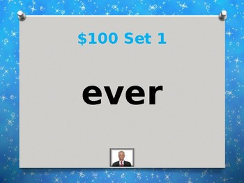 Fry 4th 100 Sight Words Jeopardy Power Point #4