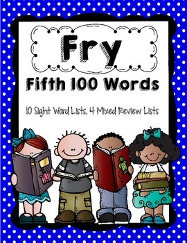 Fry 5th 100 Words