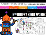 Sight Word Pack: Fry 5th 100 Words
